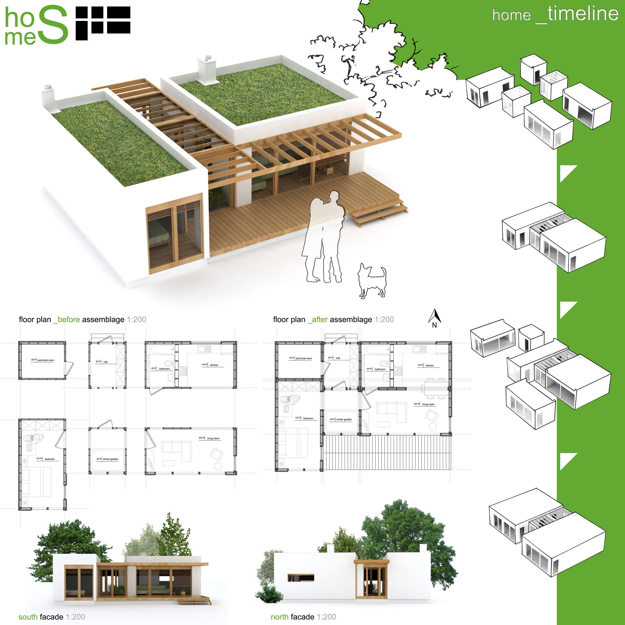 Gallery of winners of habitat for humanity 39 s sustainable for Apartment design competition