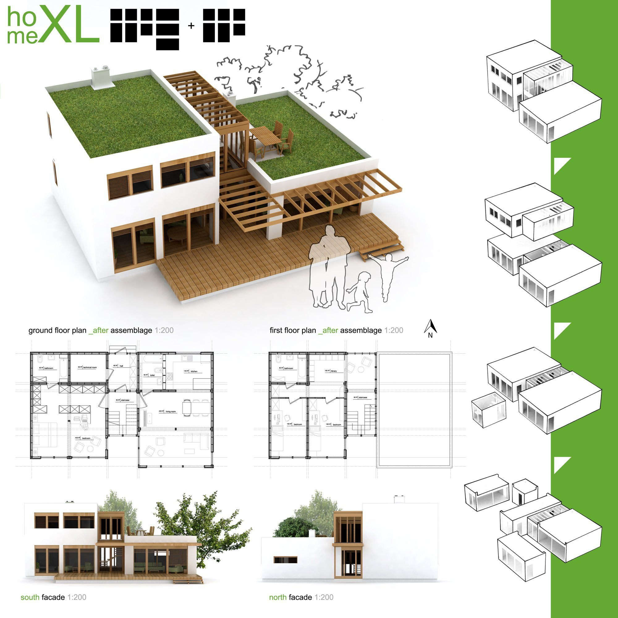 Gallery of winners of habitat for humanity 39 s sustainable for Small house design competition
