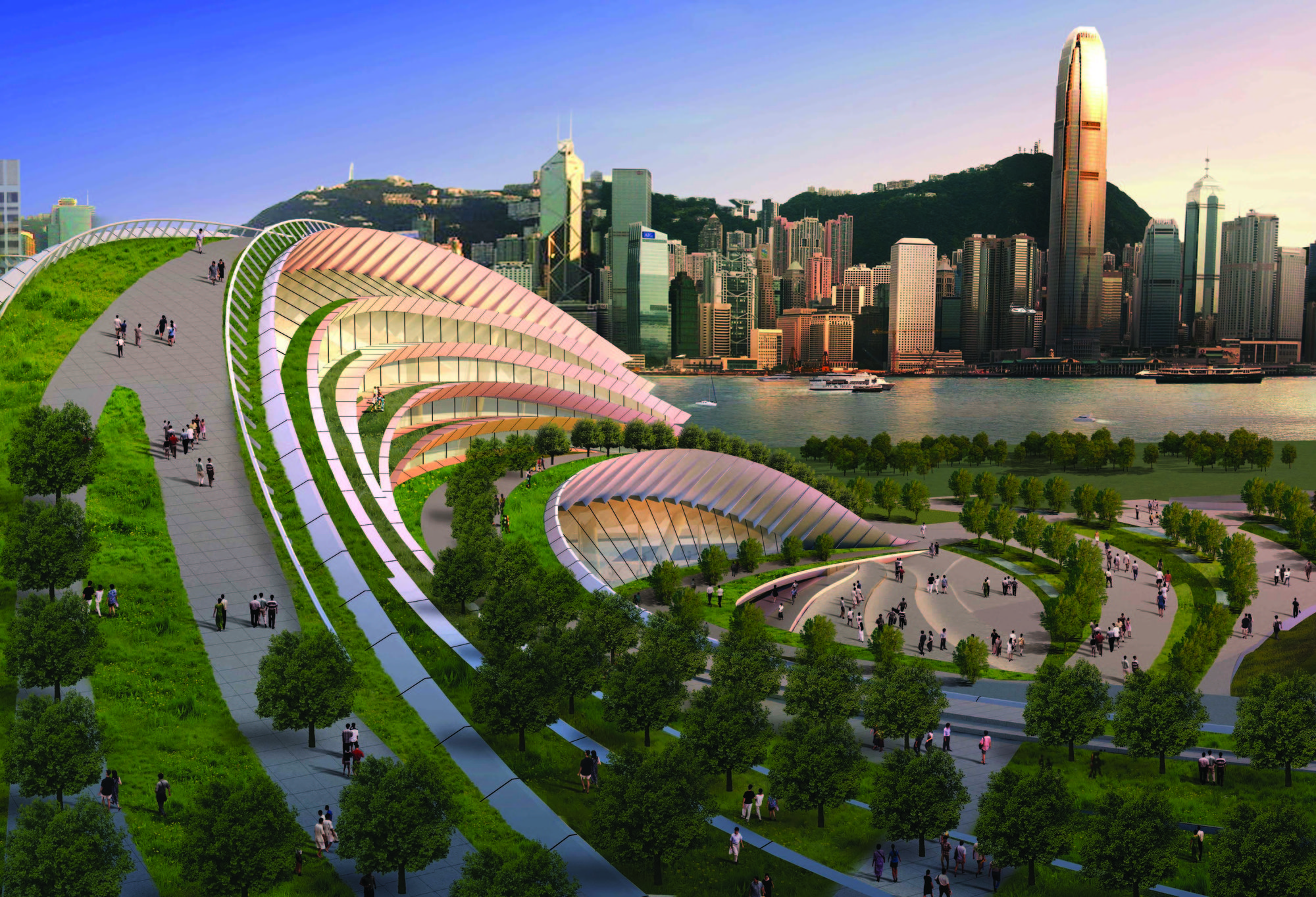 Gallery Of Express Rail Link West Kowloon Terminus