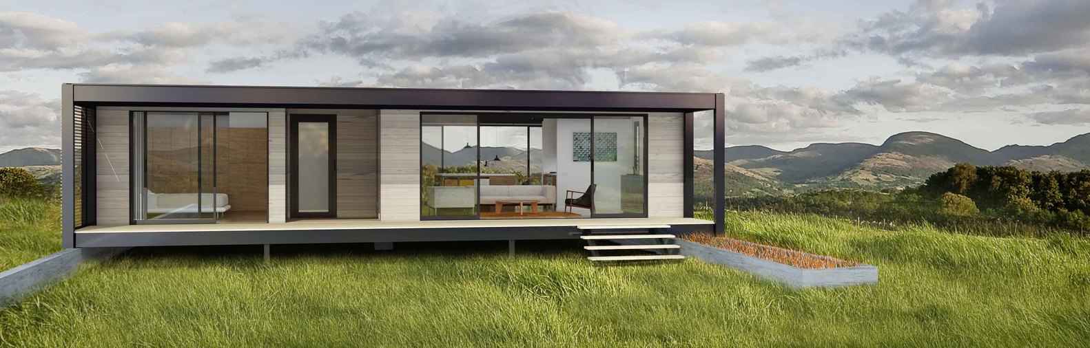 Connecthomes offers affordable modern sustainable homes