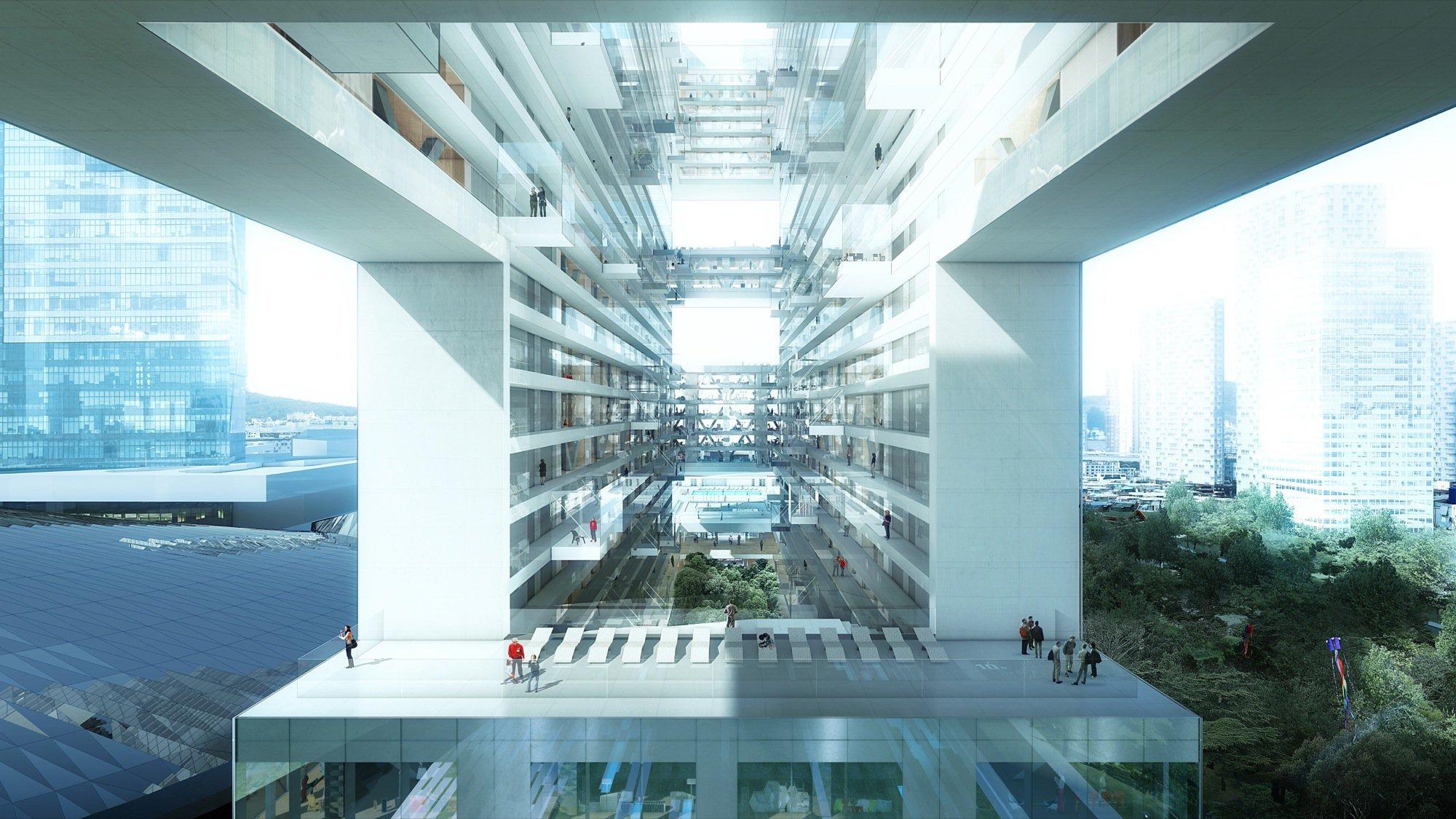 Gallery Of Yongsan International Business District