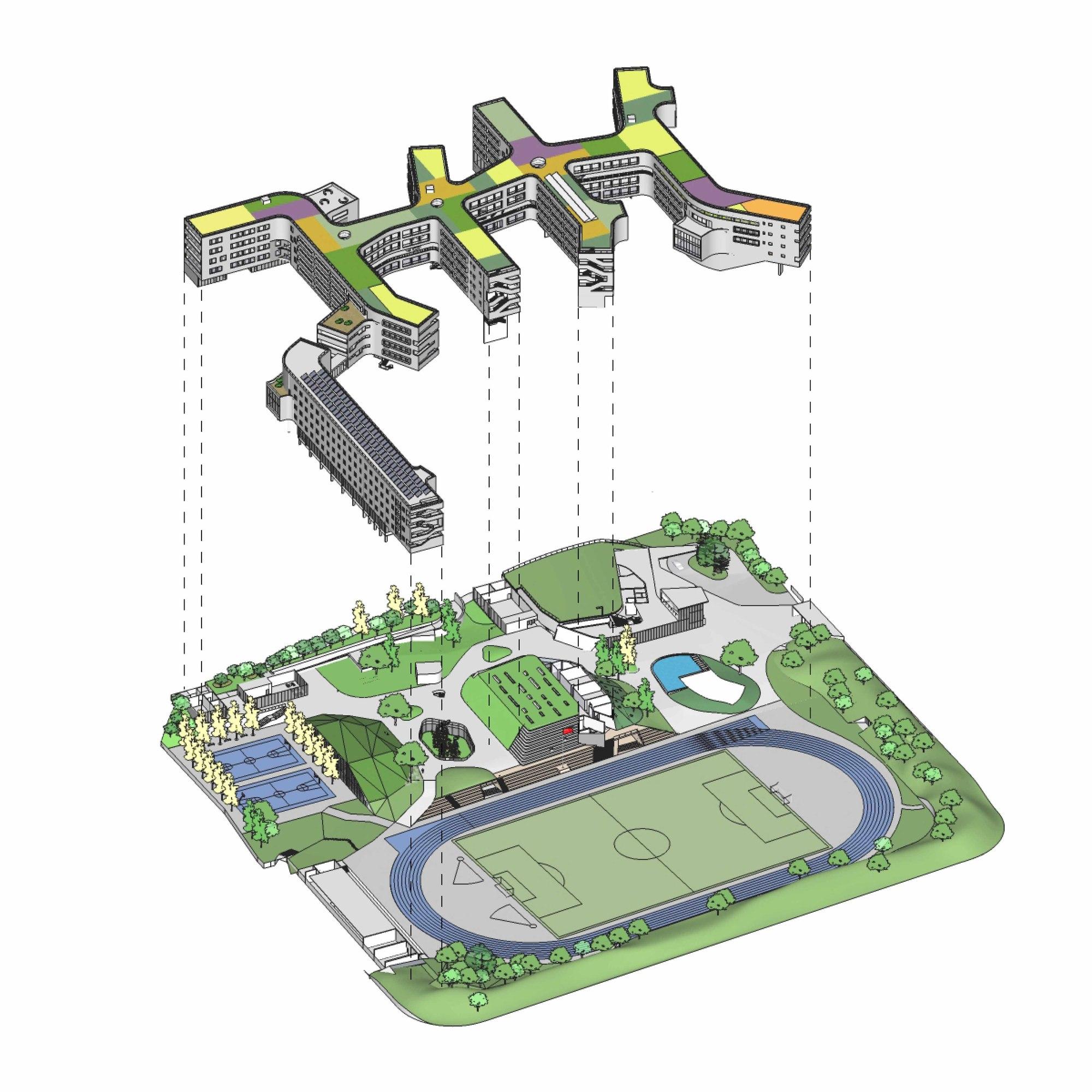 Gallery of garden school open architecture 10 for Home design garden concept