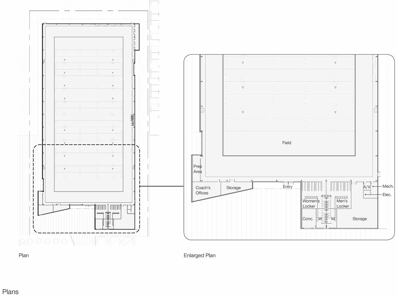 Gallery of Syracuse University Practice Football Facility – Syracuse University Housing Floor Plans
