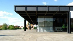 Chipperfield selected to renovate the Neue National Gallery in Berlin