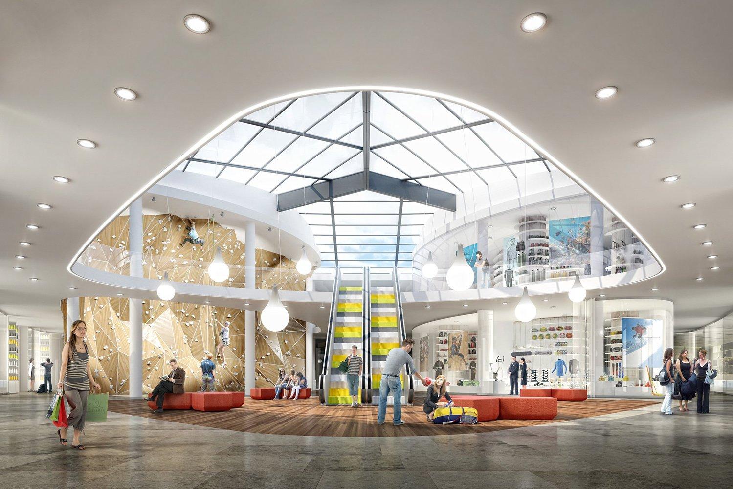 Silocenter sports and leisure center neostudio architekci bpt jedlinski