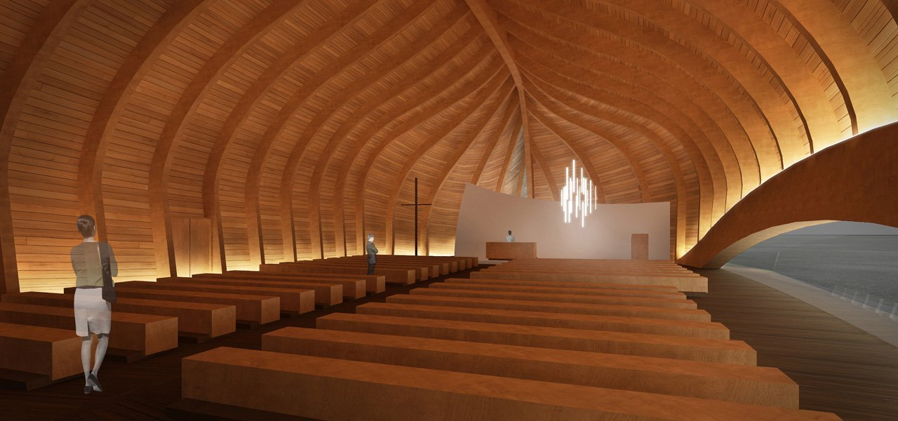 Gallery Of New Church Of V 229 Ler Proposal Francesco Fiotti