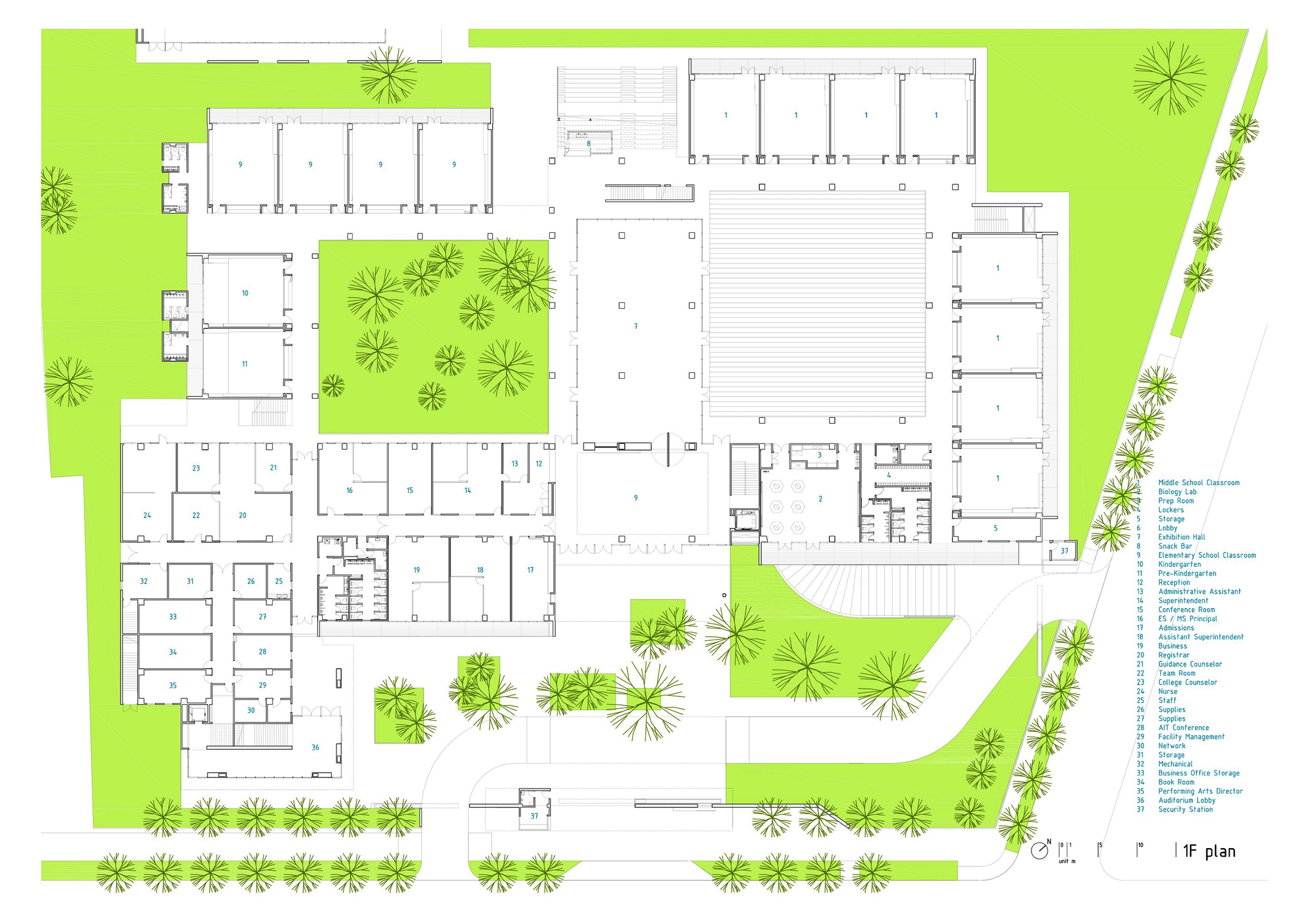 Gallery Of Kaohsiung American School Mayu Architects 28