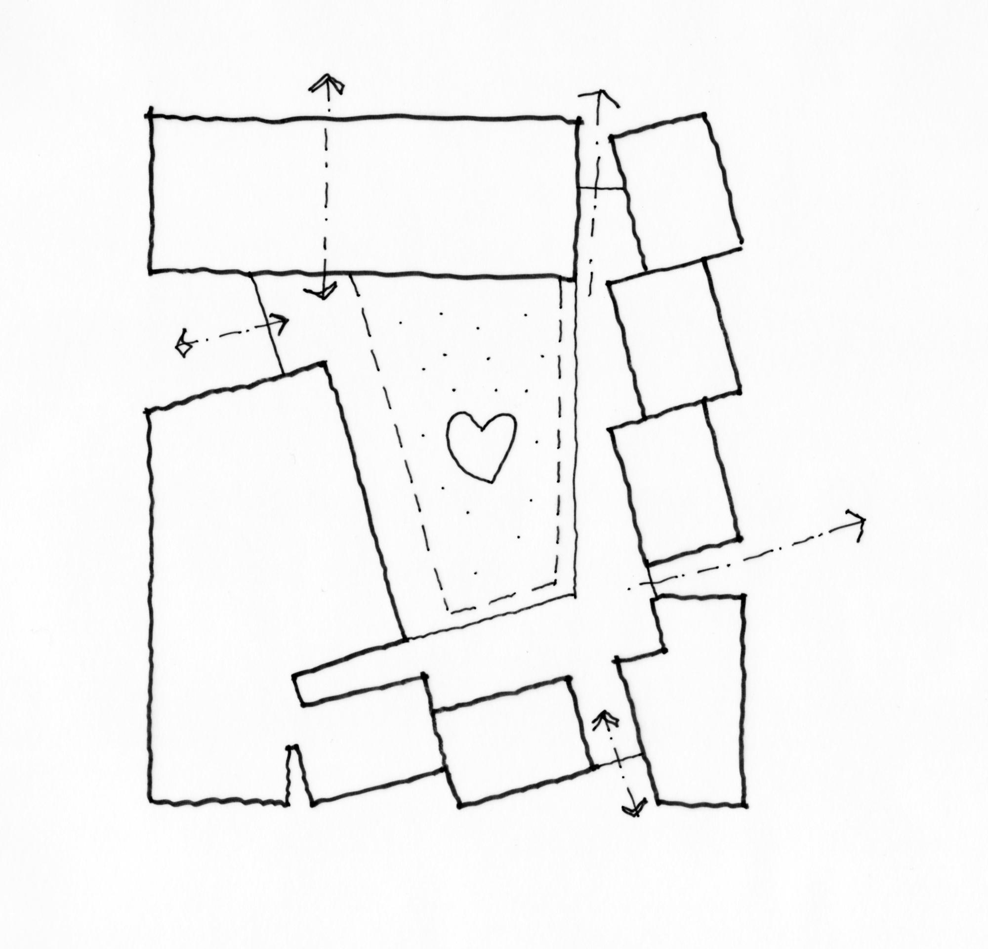 Jerusalem House Puzzle: Gallery Of No To Violence Shelter / Jacobs-Yaniv