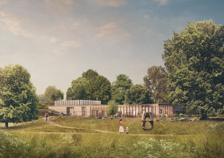 Feilden Fowles Designs New Visitor Center for Yorkshire Sculpture Park , © Picture Plane