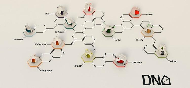 Federico Babina explora a fenomenologia da casa na série MICROARCHITECTURES , Cortesia de Federico Babina