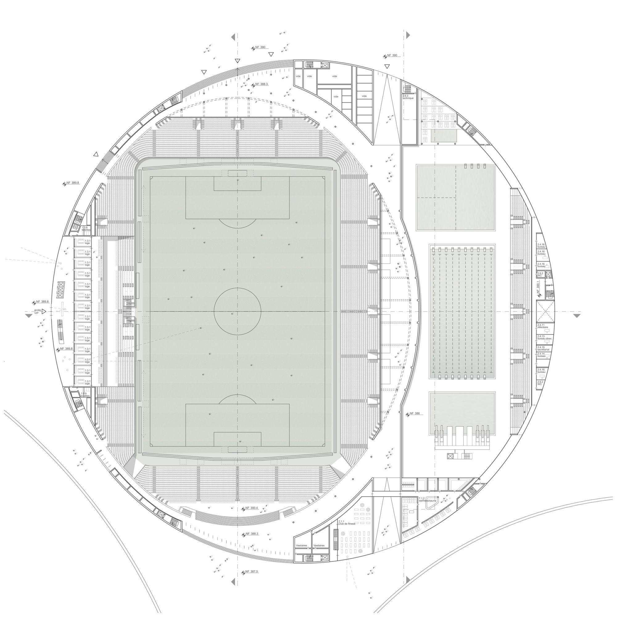 Gallery Of Sports Complex And Urban Re Design Gmp Architekten 4