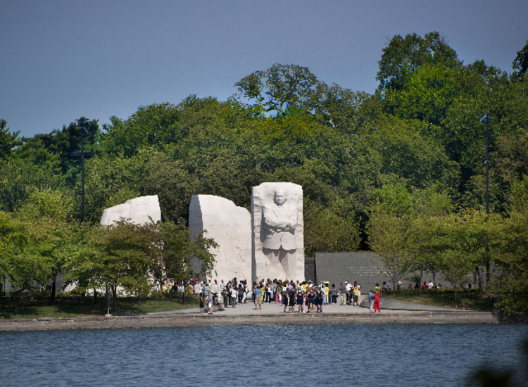 Martin Luther King Jr Memorial Roma Design Group Archdaily