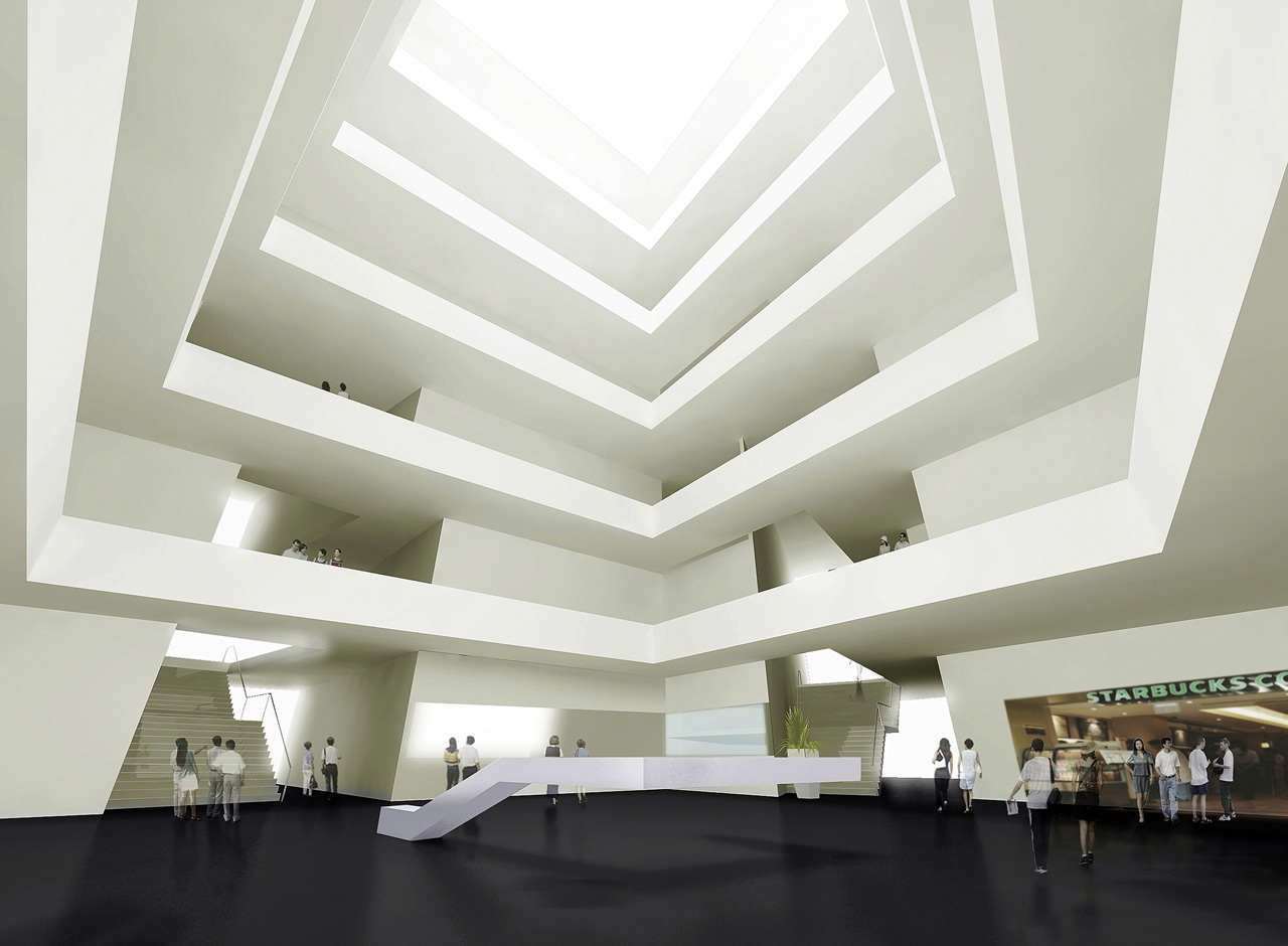 Gallery of moma chengdu wande wenmai internaional 10 for Interior 1 arquitectura