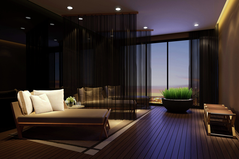 Gallery of trump tower manila century city development for Salon lounge