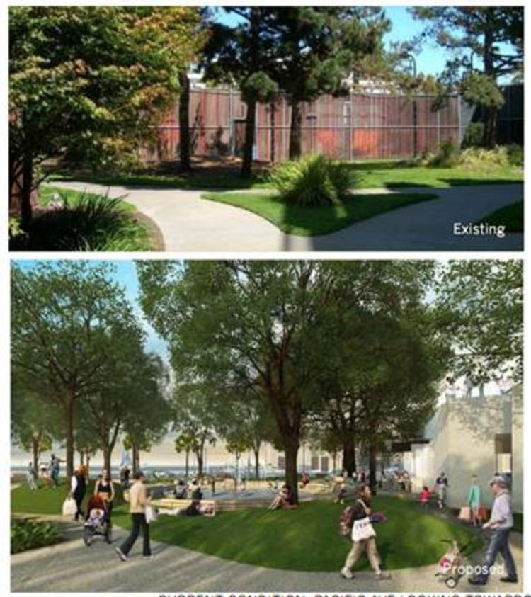 8 Washington Development Som Architects Pwp Landscape Architecture Archdaily