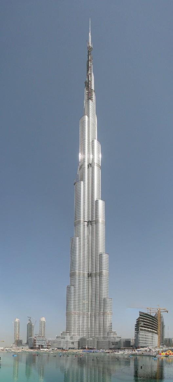 Burj Khalifa Formerly Burj Dubai Opens The Tallest