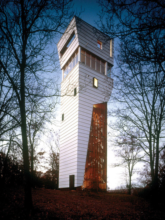 Flashback towerhouse marlon blackwell architect archdaily for Observation tower house plans