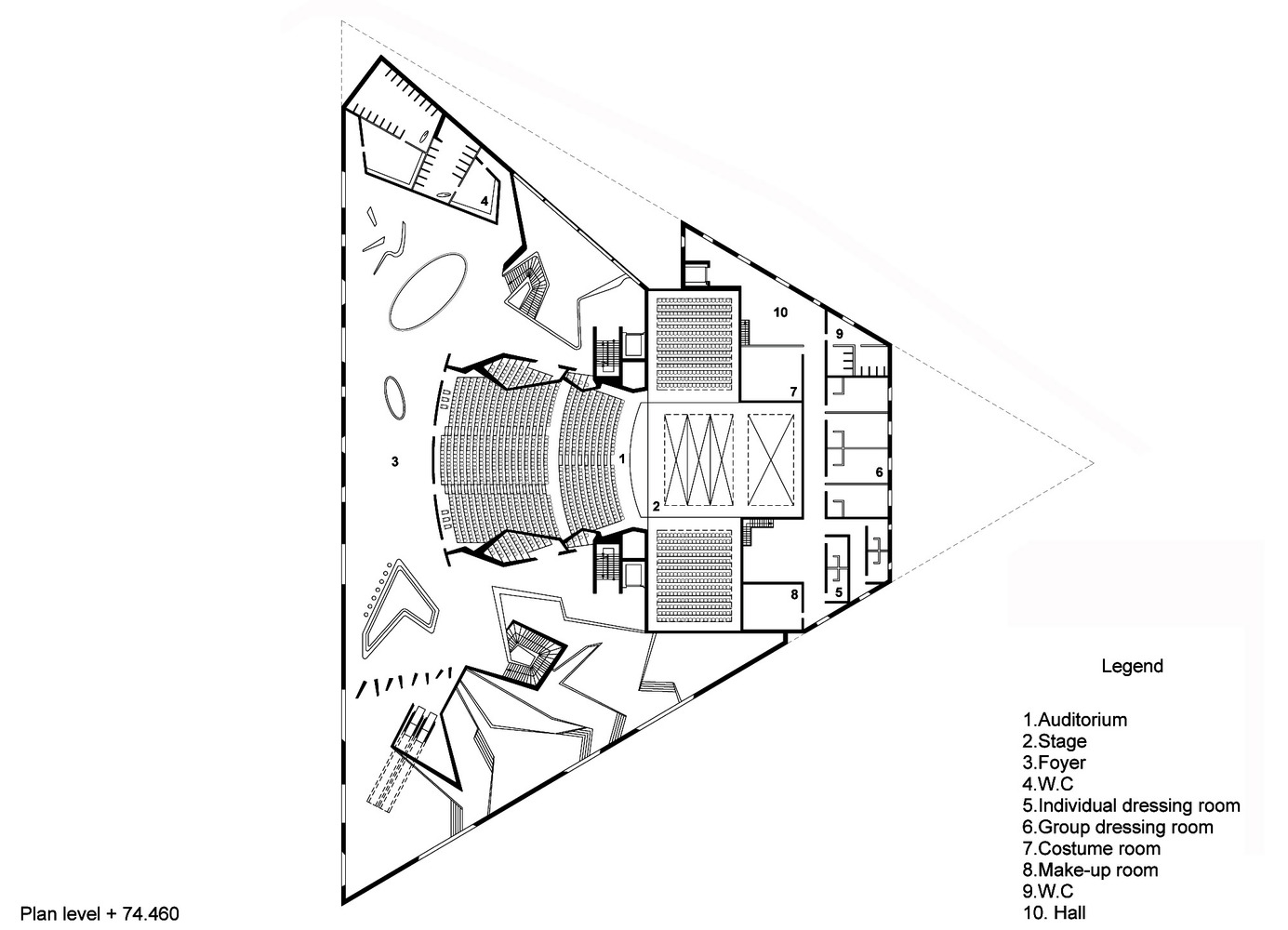 Gallery of Busan Opera House Proposal PAPER – How To Make A House Plan On Paper
