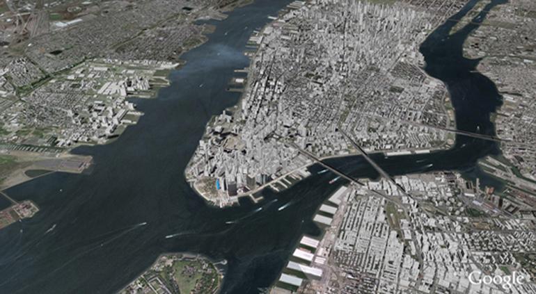 Gallery Of The Threat Of Coastal Flooding - New york city map google