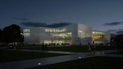 OMA wins competition for new BMVR library in Caen, France