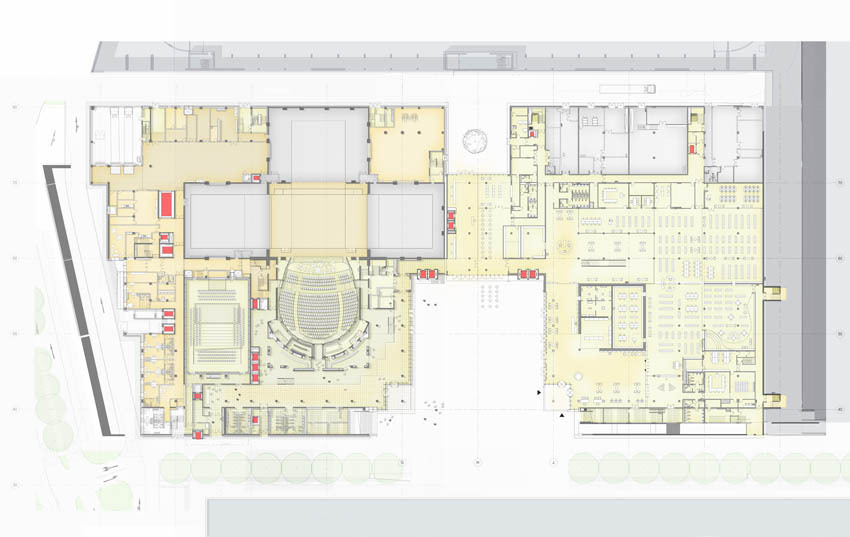 New York Times Building Floor Plan