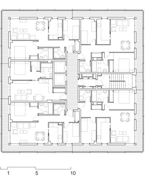 Gallery of Social Housing at Boera Park / Peñín Architects + OAB + ...