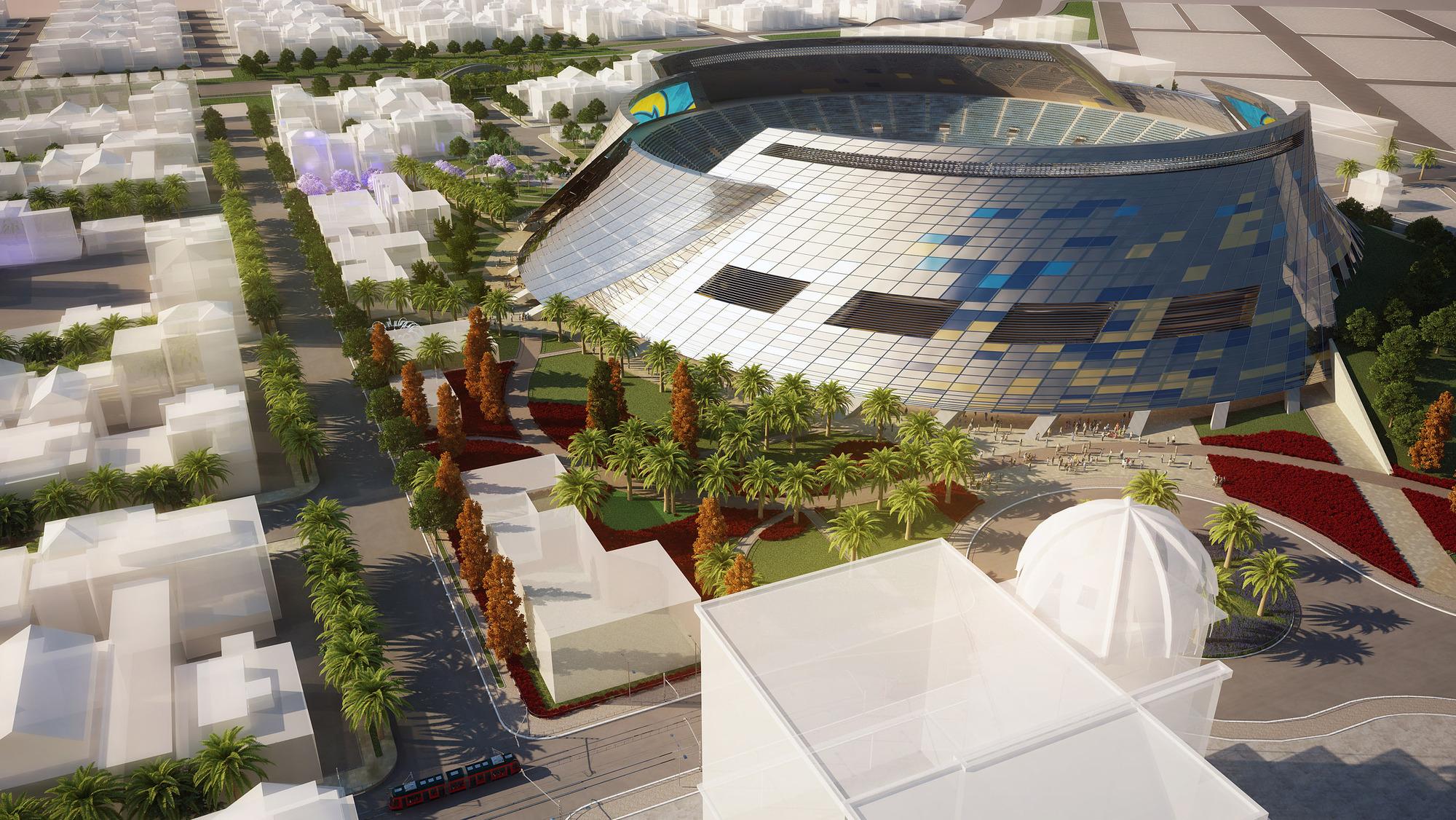 San Diego Stadium Master Plan / De Bartolo + Rimanic Design Studio And  McCullough Landscape Architecture | ArchDaily