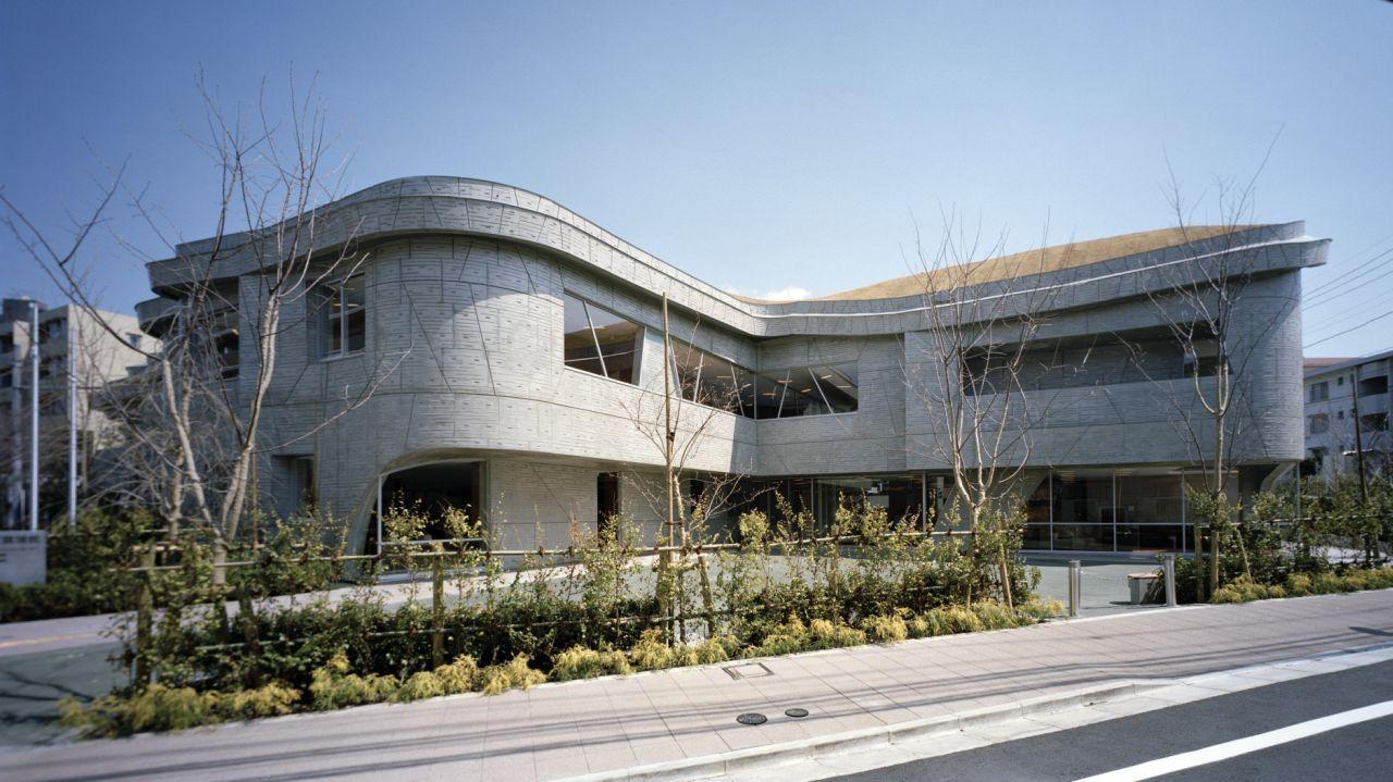 Gallery of karakida community center chiaki arai urban for Edificios educativos arquitectura