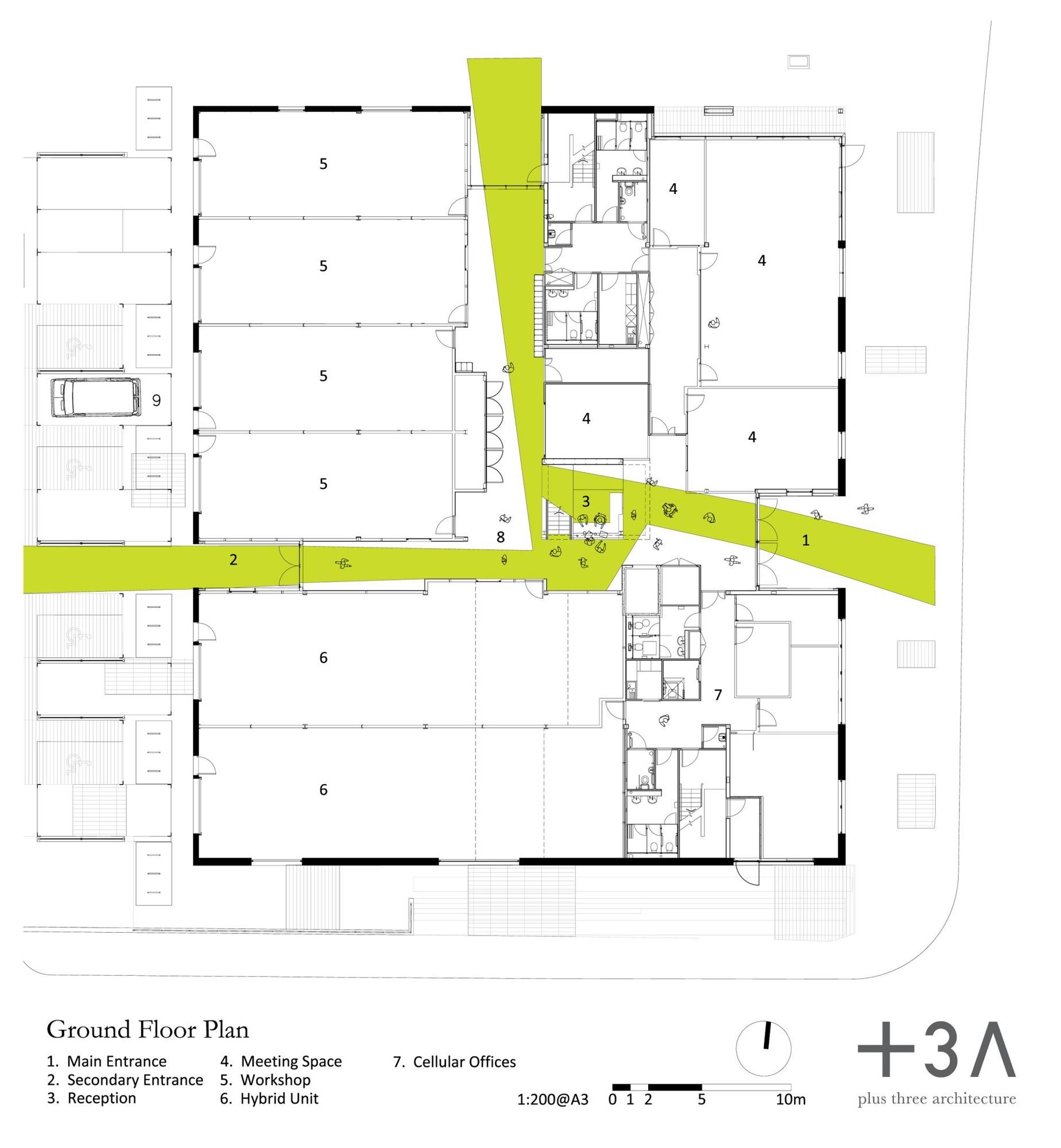 Gallery Of Green Incubator Plus Three Architecture 4