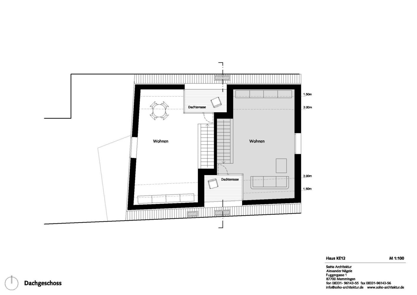 House KE12 / SoHo Architektur,Plan 02