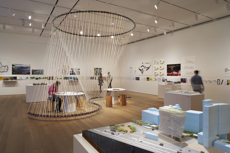 Architecture Studio building: inside studio gang architects' exhibition | archdaily
