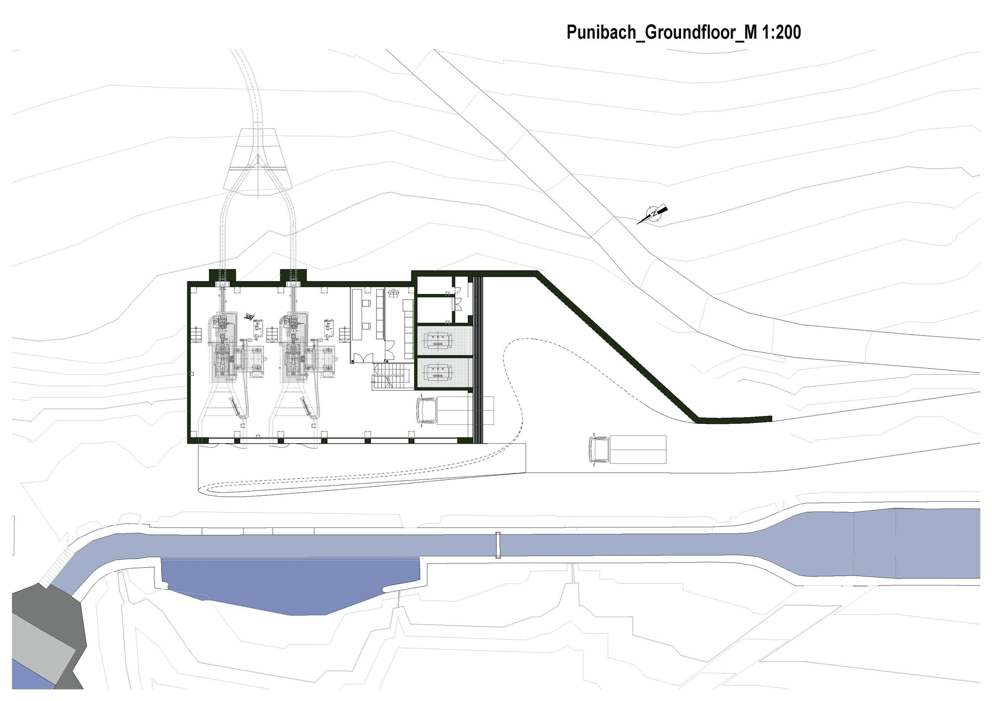 Gallery Of Hydroelectric Power Station Punibach Monovolume Diagram Zoom Image View Original Size