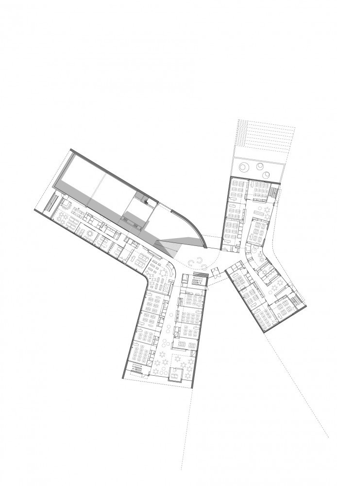 architecture floor plans gallery of kirkkoj 228 rvi comprehensive school verstas 10172