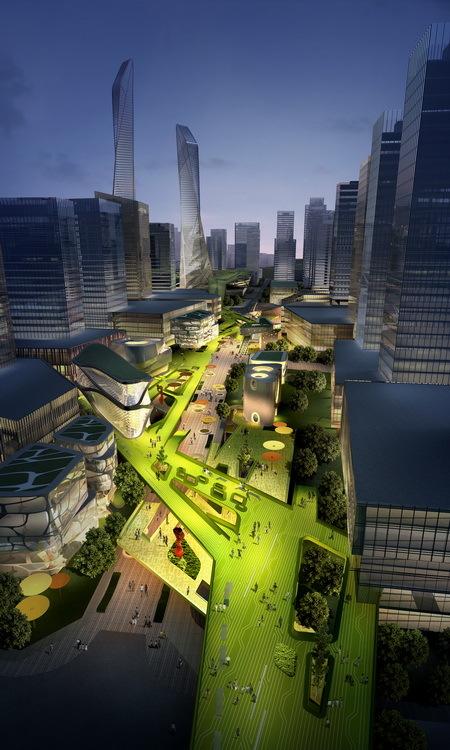 gallery of southern island of creativity    chengdu urban design research center