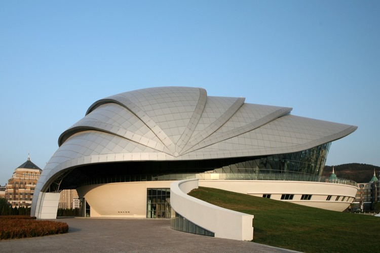 Dalian shell museum the design institute of civil for What type of engineer designs buildings