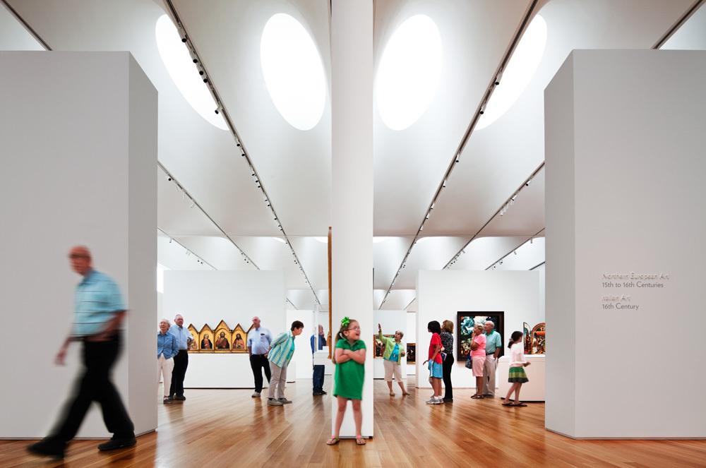 Museum Of Arts And Design Inside : Gallery of north carolina museum art thomas phifer