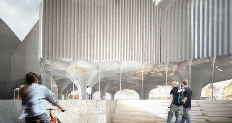 Maribor art gallery competition entry stan allen architect save this picture publicscrutiny Images