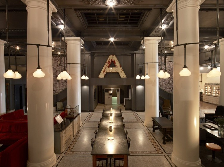 The Ace Hotel New York Roman and Williams ArchDaily