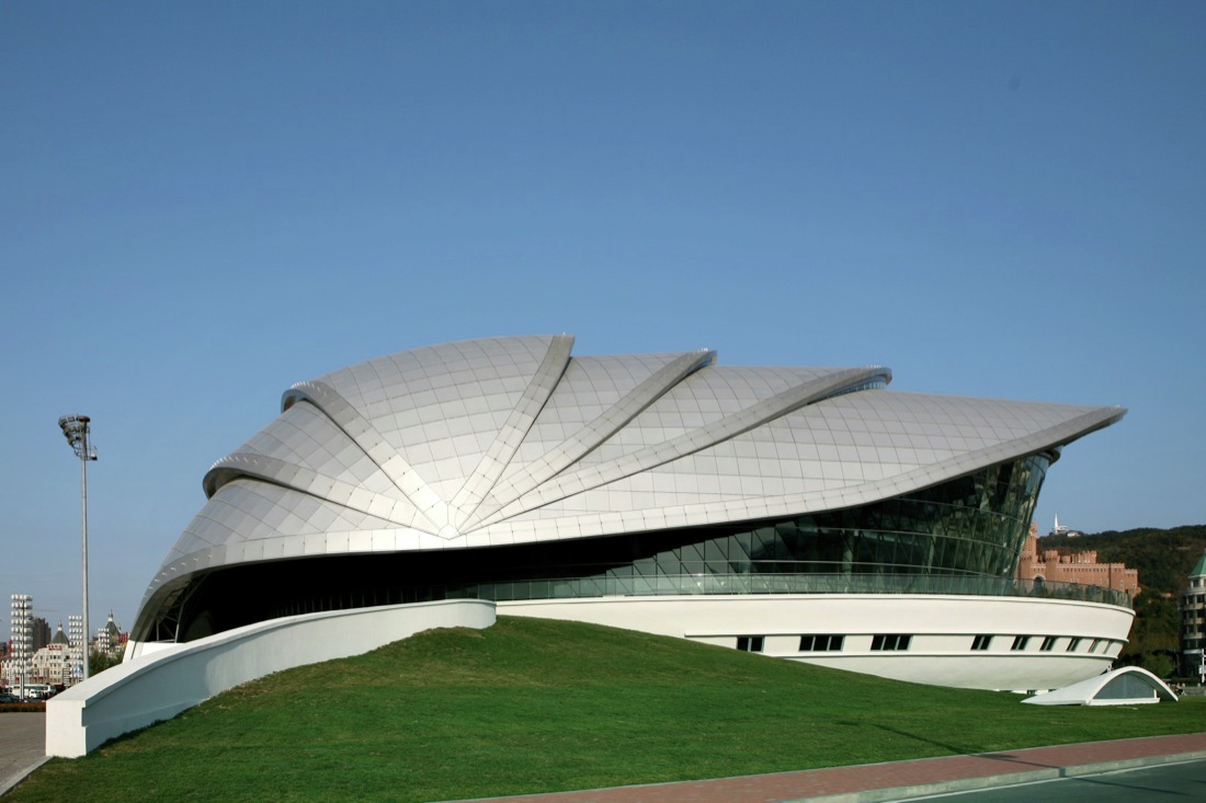 Captivating Dalian Shell Museum / The Design Institute Of Civil Engineering U0026  Architecture Of DUT Awesome Design