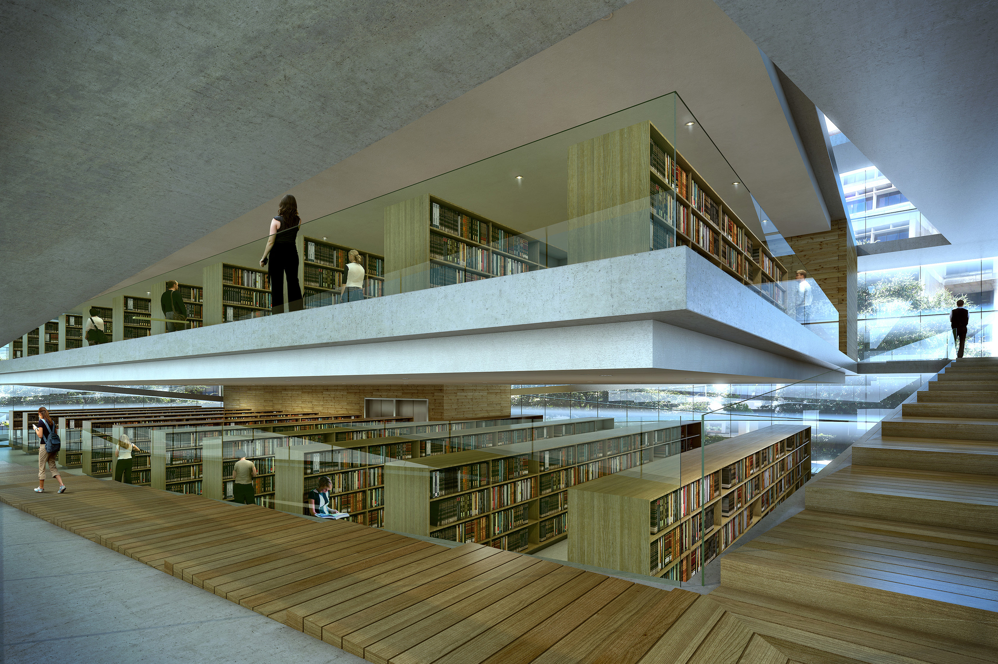 Gallery Of Baton Rouge Downtown Library By Trahan Architects Update 16