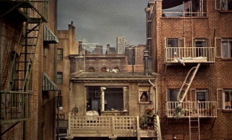 Films architecture rear window archdaily - La finestra sul cortile trailer ita ...