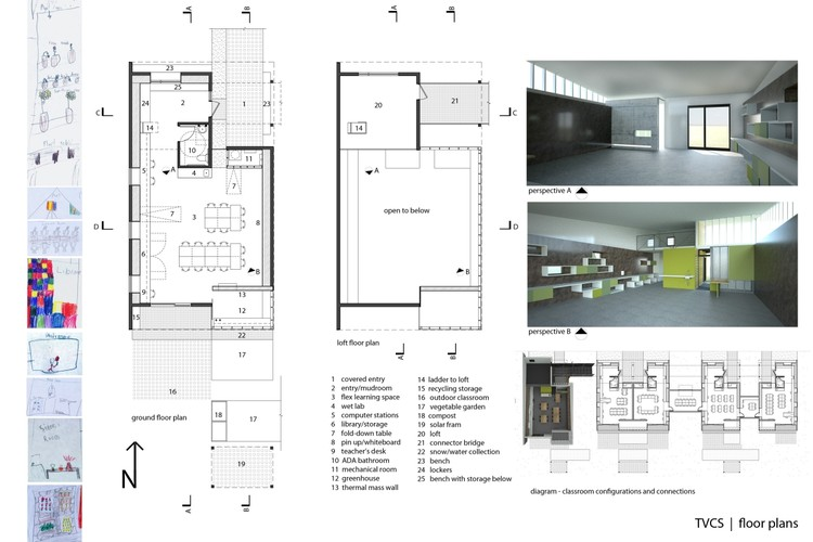 Modern Classroom Plan ~ Open architecture challenge classroom archdaily