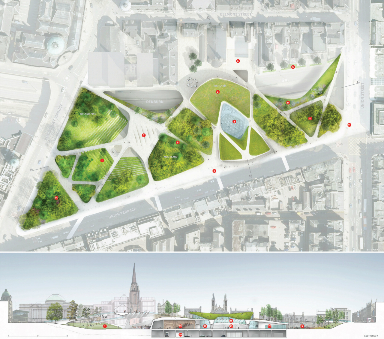 Building Site Map Examples: Gallery Of Diller Scofidio + Renfro Selected To Transform