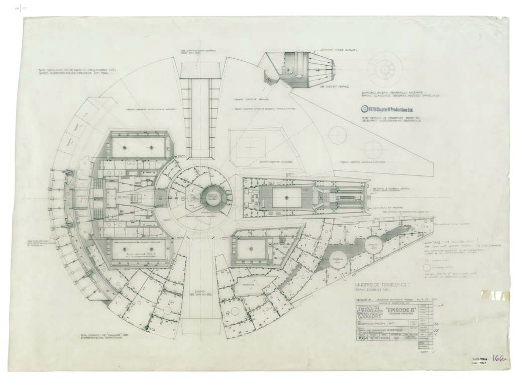 Vaak Gallery of Blueprints of the Star Wars Galaxy - 10 &LG91