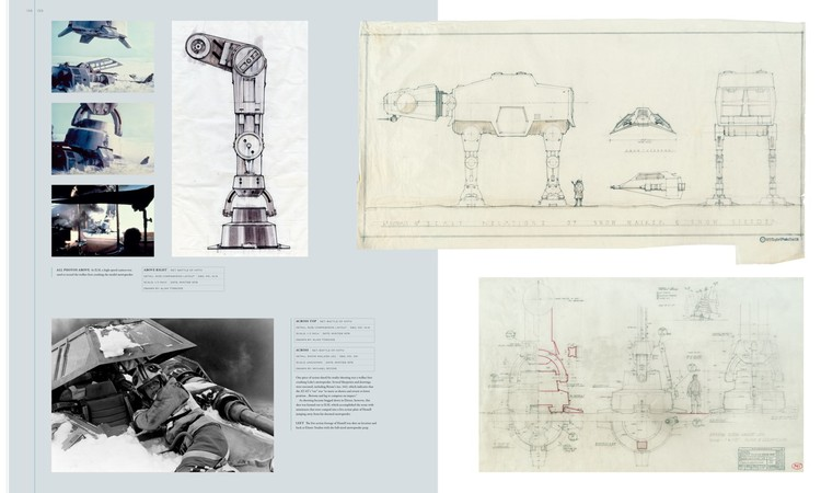 Blueprints of the star wars galaxy archdaily 2011 lucasfilm ltd malvernweather Choice Image
