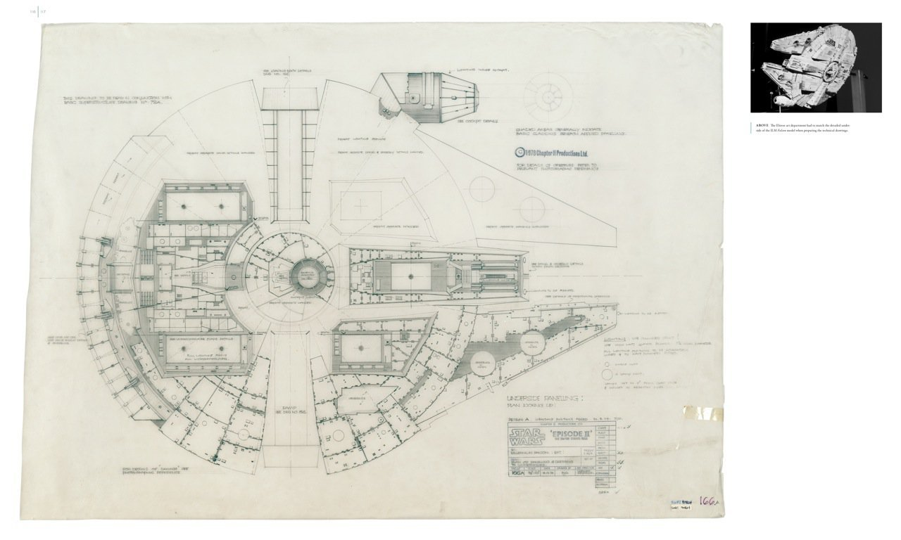 Magnifiek Gallery of Blueprints of the Star Wars Galaxy - 3 #AS72