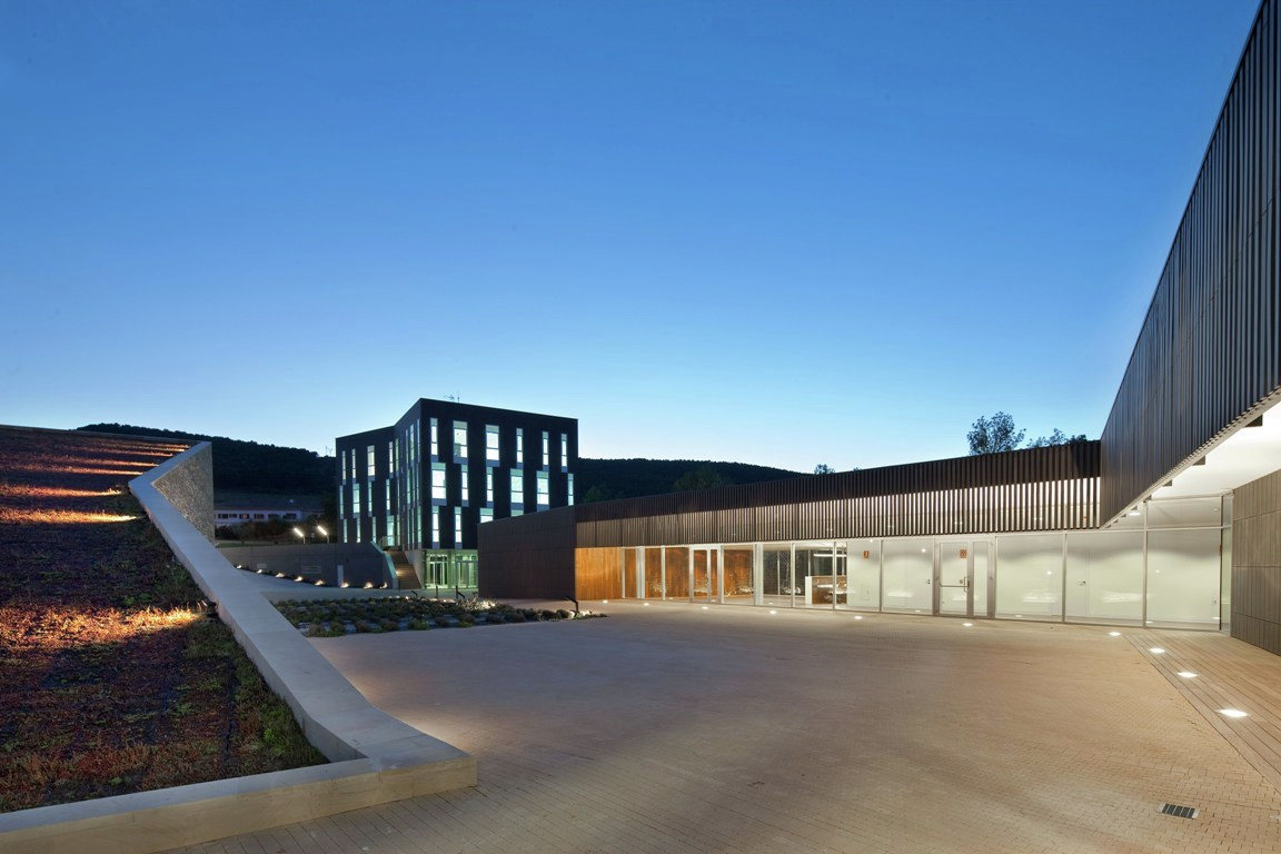 Gallery of la grajera winery virai arquitectos 14 - Arquitectos logrono ...
