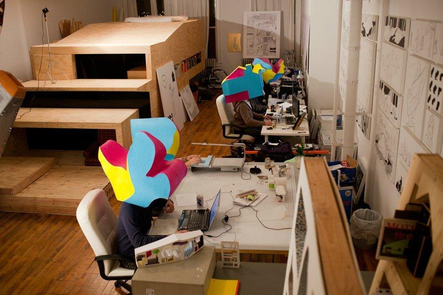 Kickstarter Hefner Beuys House Jimenez Lai Archdaily