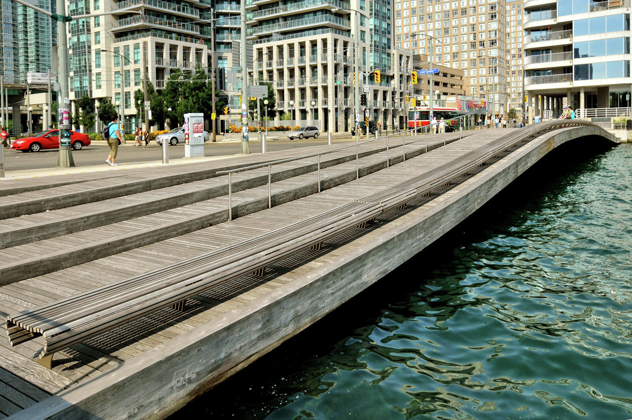 Gallery of toronto central waterfront west 8 and dtah 2 for West 8 landscape architecture