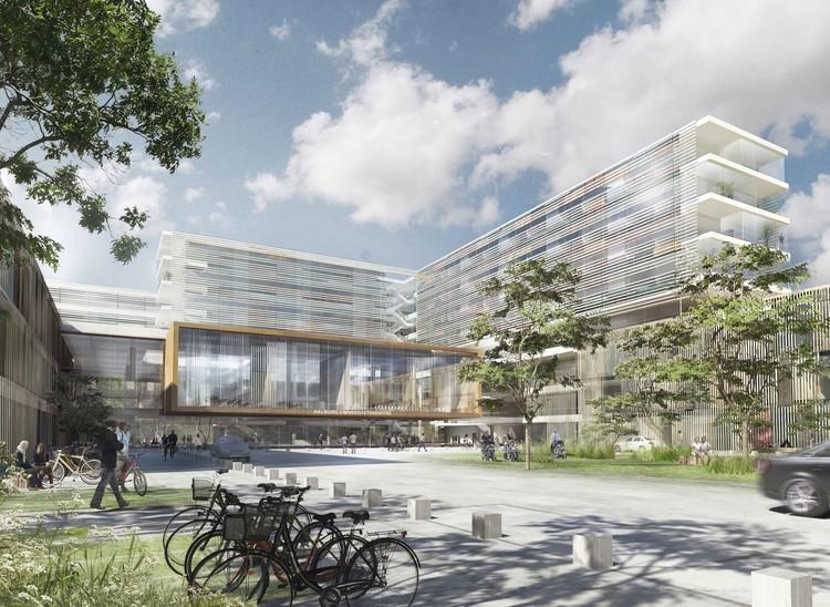 New Aalborg University Hospital Schmidt Hammer Lassen Architects